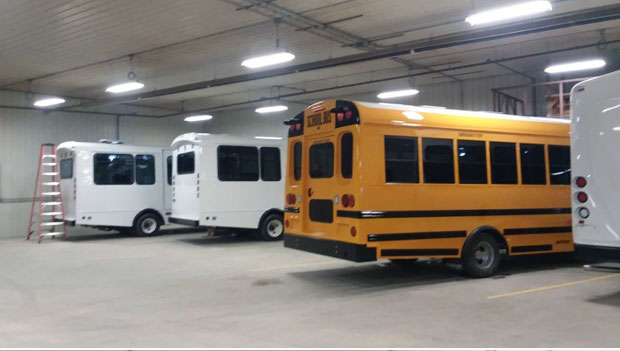 TWR Transport Pre-Delivery Bus Inspections