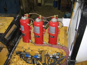 Bus Fire Suppression Systems - sales, service, installations