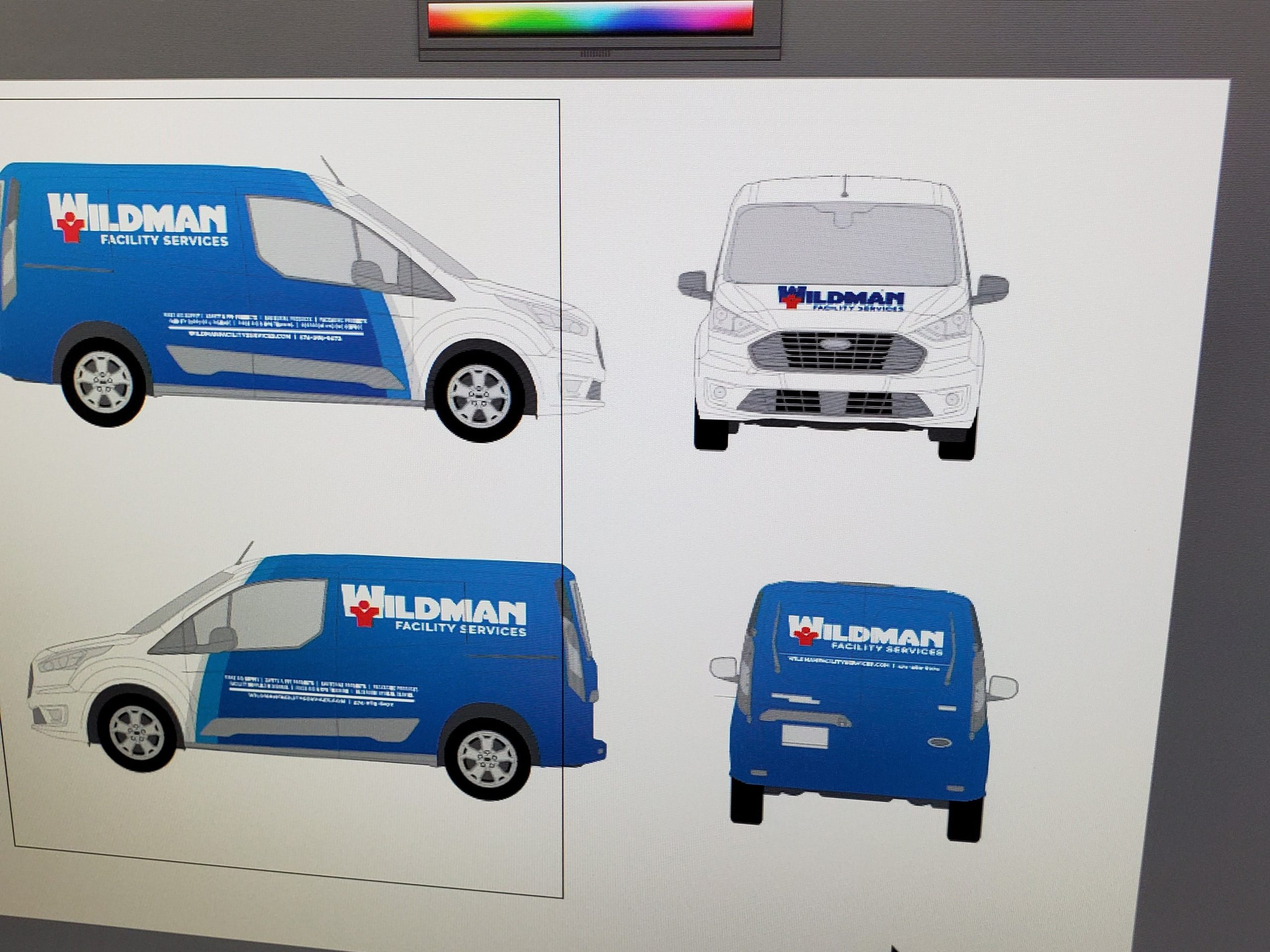 Truck custom graphics printing and installations - TWR Transport, New Paris, IN 46553