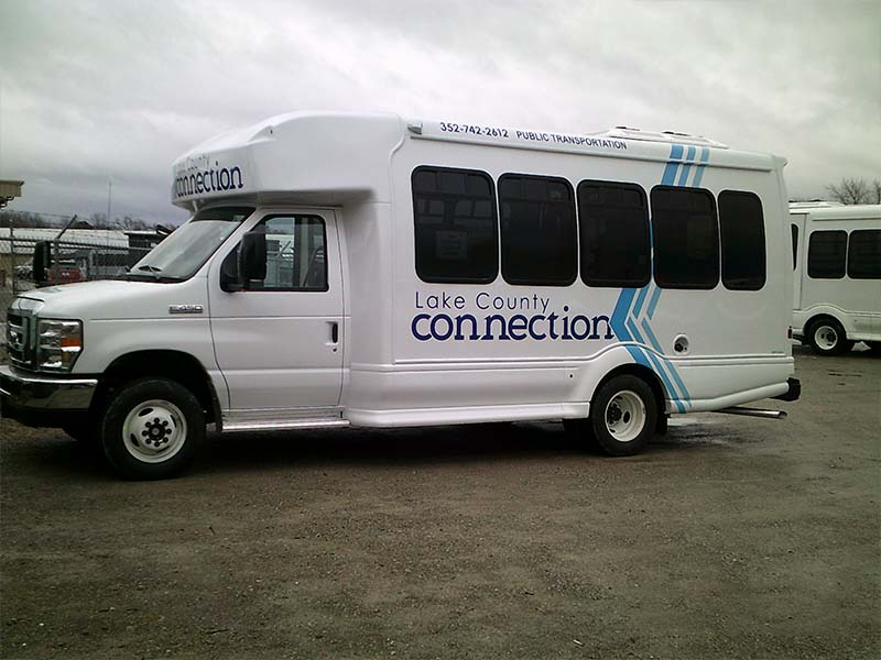 Lake County Connection Vehicle Paint and Graphics - TWR, New Paris, IN 46553