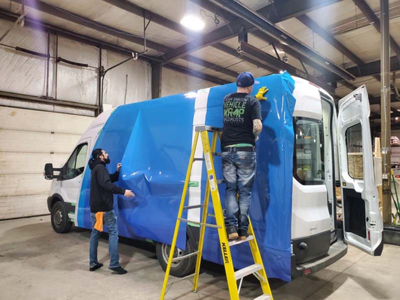 Vehicle Paint and Graphics for Buses, Rvs, Trucks & Specialty Vehicles - New Paris, IN